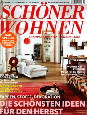Zeitschrift Schöner Wohnen anja thede